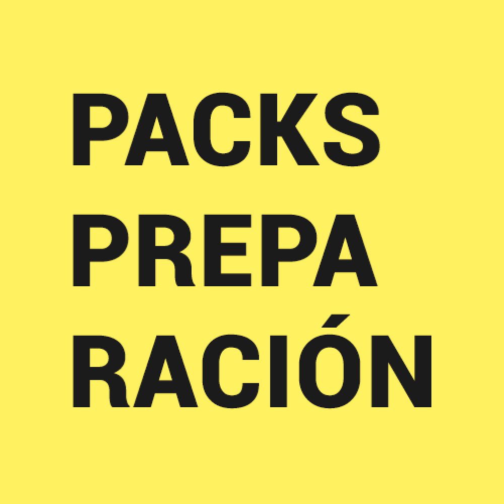 PACKS DE PREPARACIÓN